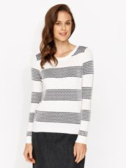 Lola Stripe Knit - from Portmans