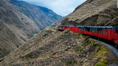 In 2008, only 10% of Ecuador's train network was operational. The flagship of the railway's $280 million renaissance, Tren Crucero operates a new cross-Andean service
