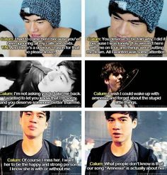 Imagine: You're dating Calum but while he's on tour he cheats on you and the boys find out. (Part2)  (c)5SOS_Imagining