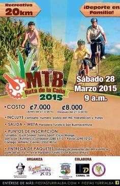 Recreativa MTB Ruta de la Caña 2015   Recreativas de MTB Costa Rica