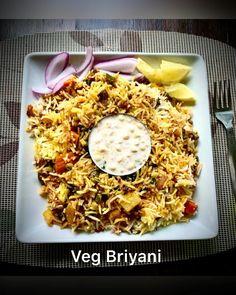 Vegetarian Biryani, Vegetarian Lasagna Recipe, Vegetarian Recipes Videos, Veg Biryani Recipe Video, Vegetable Biryani Recipe, Indian Veg Recipes, Indian Dessert Recipes, Dinner Recipes, South Indian Biryani Recipe