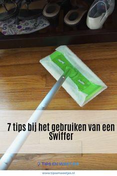 7 tips bij het gebruiken van een Swiffer