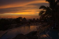 Magic sunset @mamancana - Santa Marta, Colombia