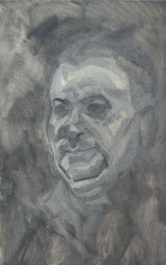Man from Larnaka | Oil on Board | 2013