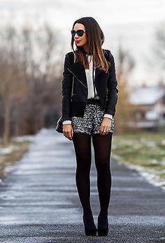 Zara Silver Black Sequinned Sequin Shorts Hotpants Bloggers Fav
