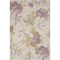 Hand-tufted Ivory Avocet Rug (3'3 x 5'3) - Overstock™ Shopping - Great Deals on 3x5 - 4x6 Rugs