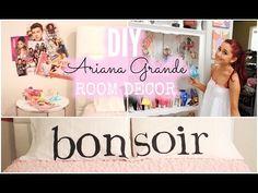 DIY Ariana Grande Room Decor! Cheap & Simple! - YouTube