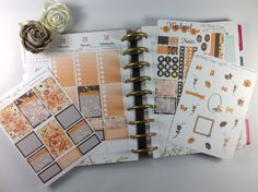 Weekly Planner Kit  Happy Planner kit  Weekly by LilsShabbyDesign