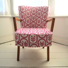 Image of Pretty in Pink Cocktail Chair; we call it a 'hostess chair'