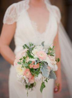 Pastel et végétal #bouquet de #mariee #wedding #bouquet #bouquetdemariee #weddingbouquet
