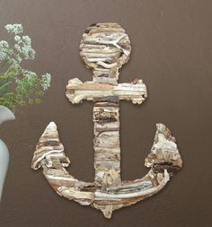 Driftwood Anchor by M.A.M.