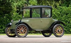 "1918 Milburn Electric Light Electric Model 27 Brougham.  This car sold in 2010 at Hershey and has been ""missing"" since."