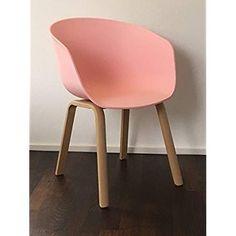 chaise scandinave,salle à manger scandinave, rose, hêtre, cadre en bois, PAULINE