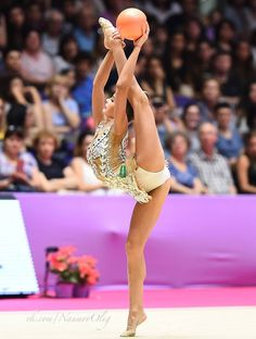 Arina AVERINA (Russia) ~ Ribbon @ Grand Prix Holon-Israel 23-24/06/2017 Photographer Oleg Naumov.