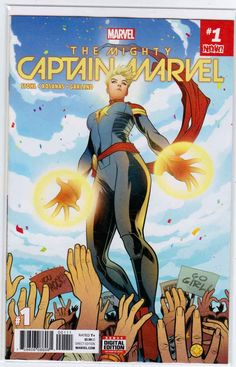Buy The Mighty Captain Marvel Vol. Alien Nation by Margaret Stohl at Mighty Ape NZ. Behold the mightiest, fightiest super hero there is! Captain Marvel returns to her helm as Alpha Flight commander with the world cheering her on. Marvel Saga, Marvel Comic Universe, Marvel Series, Comics Universe, Marvel Marvel, Captain Marvel, Marvel Fight, Marvel Girls, Marvel Trailers