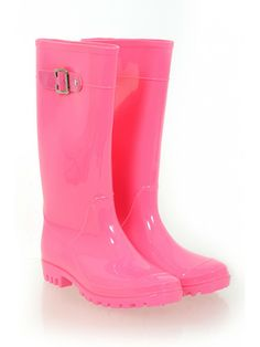 Pink Wellington Boots from Select Fashion online store