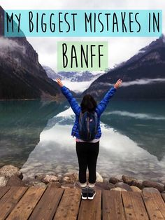 Biggest Mistakes In Banff Banff is so beautiful and would be the perfect vacation right? Not always.here are my biggest mistakes in Banff.Banff is so beautiful and would be the perfect vacation right? Not always.here are my biggest mistakes in Banff. Montreal, Vancouver, Pvt Canada, Canada 150, Parc National De Banff, Banff National Parks, Jasper National Park, Ottawa, Places To Travel