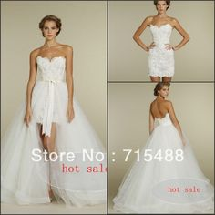 This is HOT.  $150 I love the mini dress for reception or reherrsal