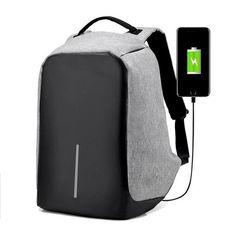 d48de5289ebd Unisex Men Women Multi function USB charging Anti Theft Backpacks.  Waterproof Camera BagLaptop RucksackTravel ...