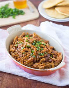How to make melt-in-your mouth pulled pork in a slow cooker.