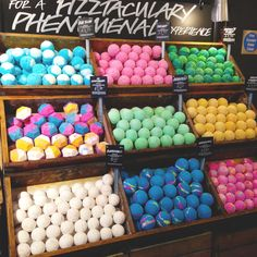 What is a bath bomb? Only the best bath fizzy you'll ever experience! Take bathing to a whole new level with gorgeous colors and intoxicating scents. Find one for every mood and occasion at Lush. Bath Booms, Lush Fresh, Lush Bath Bombs, Handmade Cosmetics, Perfume, Bath Soap, Bath Fizzies, Floating Shelves Diy, Photo Diary