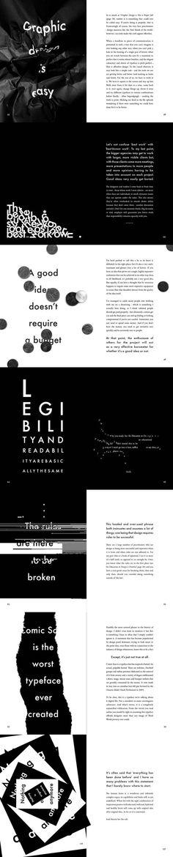 Popular Lies About Graphic Design, via Behance