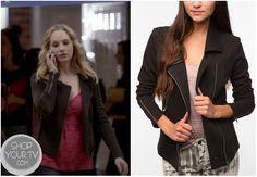 Shop Your Tv: The Vampire Diaries: Season 1 Episode 16 Caroline's Black Jacket