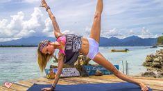Yoga Workout ♥ Tone Your Tummy & Strengthen Your Core | Gili Meno