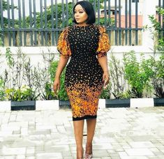 Latest beautiful collection the best plain and patterned ankara collections there are in the African print ankara fashion world African Fashion Ankara, African Inspired Fashion, African Print Dresses, African Print Fashion, Africa Fashion, African Dress, African Attire, African Wear, African Women