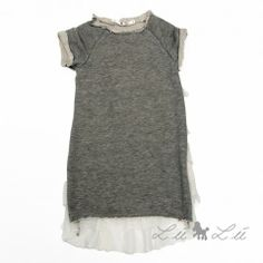 Lù Lù by #missgrant FLEECE DRESS WITH FLOUNCES. Sale 50% off Spring&Summer Collection! #discount