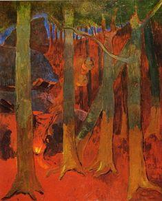 Paul Sérusier Sous -bois ,huelgoat (1892)
