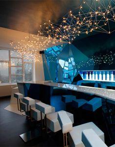 Grey Goose Bar Moderne Interior Design Modern Restaurante