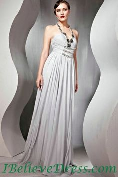 Silver Evening Gowns Sale