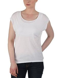 Large (Manufacturer size: Large), White (Brightwhite), Bench Women's T-Shirt Bre