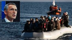 Flyktningkrisen fortsetter for fullt. Nå vil mektige aktører ha NATO på banen. - Aftenposten