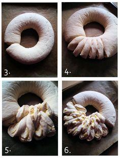 Technique de façonnage brioche ou pain - Massas decoradas 1