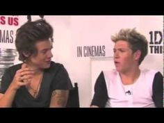 One Direction - Harry and Niall Cute and Funny Moments/Interviews THIS MADE ME CRY!!!!!!!!!