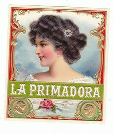1 cigar box label Primadora Habana Outer, €2.69