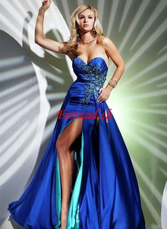 2014 Sexy A-line Floor-length Sweetheart Beading Prom Dresses Inexpensive Prom Dresses, Unique Prom Dresses, Prom Dresses Blue, Event Dresses, Homecoming Dresses, Strapless Dress Formal, Formal Dresses, Pageant Dresses, Dress Long