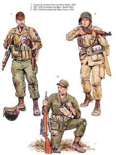 U.S.ARMY - Soldato scelto della 101th Airbourne Division ...