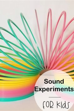 How do we hear? Kids will love learning about their sense of hearing with these hands-on science experiments to show how sound travels and how we hear. #sensesactivitiespreschoolhearing #soundexperiments #soundexperimentsforkids #howwehear