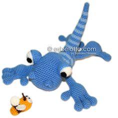Giacomo Gecko - Amigurumi crochet pattern