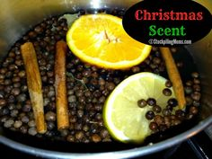 Christmas Scent - Everyone wants to know my secret at the holidays because the house smells so wonderful. Here it is!