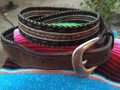 A personal favorite from my Etsy shop https://www.etsy.com/listing/453073634/horsehair-belt-king-ranch-saddle-shop