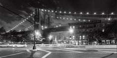 Kurt Krause: Brooklyn Bridge New York Leinwandbilder New York Poster, New York S, New York City, Brooklyn Bridge New York, Vinyl, Street View, Wall Art, Concert, Travel