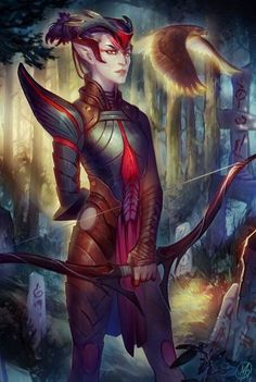 Andruil - Goddess of the Hunt in elven pantheon