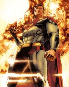 #Superman Action Comics #1000 by Clay Mann