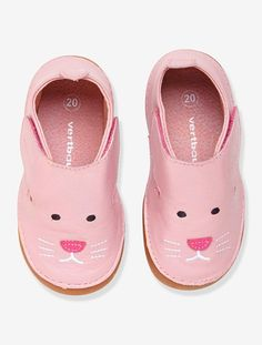 Zapatillas de piel antideslizantes, para bebé BEIGE IRISADO+BLANCO OSCURO LISO CON MOTIVOS+ROSA MAQUILLAJE