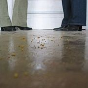How to Clean a Stained Concrete Floor | eHow