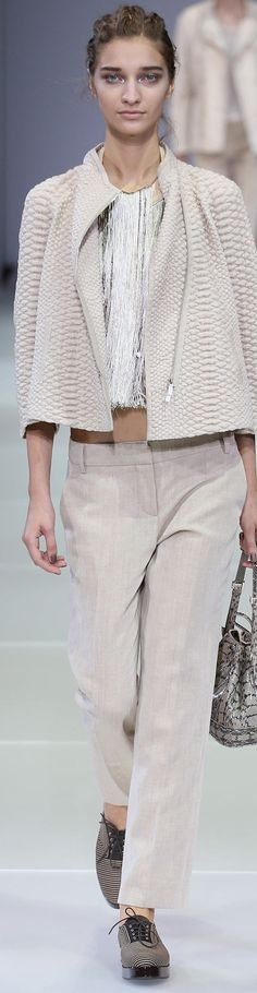 Giorgio Armani Collection  Spring 2015